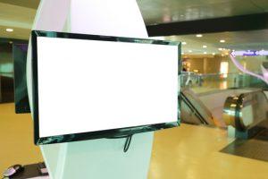 narrowcasting screen